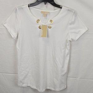 Michael Kors white blouse size S nwt